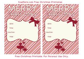 free printable christmas party invites u2013 happy holidays