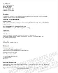 Examples Of Academic Resumes by Academic Resume Example Business Proposal Templated Business