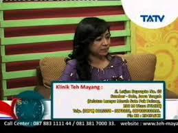 Teh Mayang 17 02 2015 solusi untuk sehat klinik teh mayang mium kista