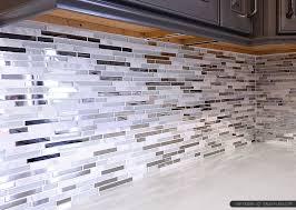 Metal Backsplash For Kitchen 5 Modern White Marble Glass Metal Kitchen Backsplash Tile In