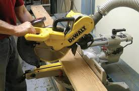 dewalt table saw dust collection miter saws canadian woodworking magazine