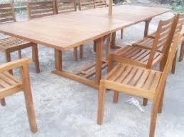 Teak Outdoor Cabinet Andana English Teak Stacking Dining Teka Outdoor Garden Furniture