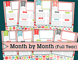 baby 1st year book my year month by month girl jpg 3 300 2 550 pixels