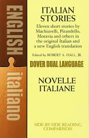 Kitchen In Italian Translation Amazon Com Italian Stories A Dual Language Book Dover Dual