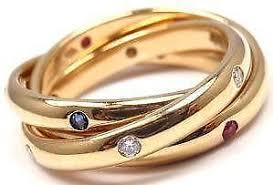 cartier rings ebay images Cartier trinity ring ebay JPG