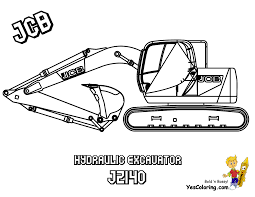 jcb jcb for children jcb digging free construction coloring pages excavator coloring