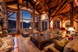 Mountain Home Interiors Much Wood For Us But Windows Are Fabulous Remodel