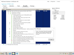 about whck bitlocker tpm and recovery password tests with pcr 7