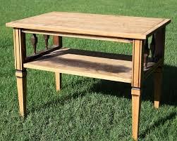 Oak Side Table Little Oak Side Table U2014 Beckwith U0027s Treasures