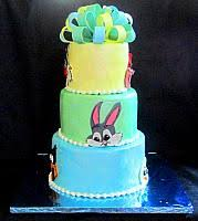looney tunes baby shower looney tunes character cake with faces