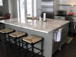 Marble Island Kitchen Modern Kitchen Kitchen Amazing Square Gloss Marble Kitchen Island
