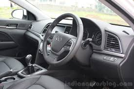 Hyundai Elentra Interior 2016 Hyundai Elantra Interior Review Indian Autos Blog