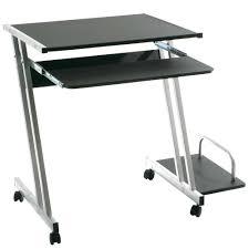 Pc Tisch Rollbarer Pc Tisch Maxx In Schwarz Pharao24 De