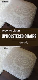 diy upholstery cleaning solution how to clean upholstered chairs quickly cleaningdiy cleaning