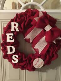 cincinnati reds burlap red chevron pillow red chevron