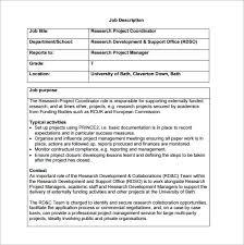 Hr Help Desk Job Description Job Description Templates Simple Job Description Template 4 Job