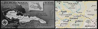 Czechoslovakia Map Czechoslovakia