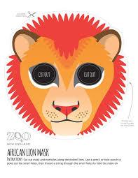 lion mask lion mask zoo new englad