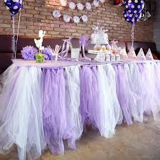 tulle decorations mixed colors wedding table tulle decorations 50cm custom made