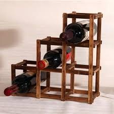 wine rack wine rack cabinet kitchen oak barrel wine cabinet