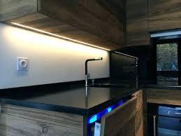 bandeau cuisine reglette led pour cuisine led pour meuble de cuisine plan de
