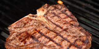 grilled t bone steaks recipe epicurious com