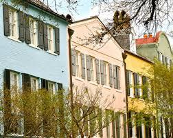 Home Decor In Charleston Sc Rainbow Row Etsy