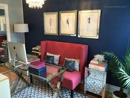 Design Office Space Online Red Modern Living Space Photos Hgtv Idolza