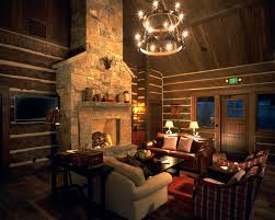 interior contemporary prefab house design with great rustic room