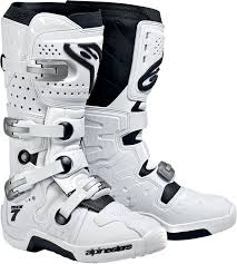 white motorcycle boots alpinestars tech 7 offroad motorcycle boots white