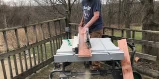 hitachi table saw review hitachi c10rj 10 jobsite table saw review fold it up and roll on
