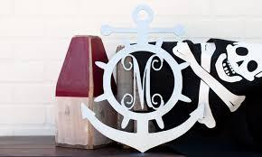 monogram plaques up to 65 16 customized metal anchor monogram plaques groupon