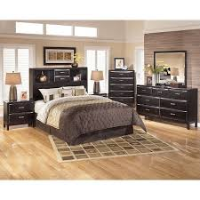 Bedroom Furniture Bookcase Headboard by Kira Bookcase Headboard Bedroom Set Signature Design By Ashley