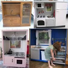 tv cabinet kids kitchen old tv cabinet to toy kitchen kids pinterest tv cabinets