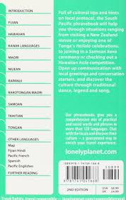 south pacific lonely planet phrasebook hadrien dhont lonely