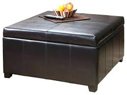 Large Tufted Leather Ottoman Tufted Leather Ottoman Coffee Table Tufted Leather Ottoman Coffee