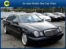 1999 black mercedes 1999 mercedes e class e55 amg v8 5 5l only 109k s for sale in