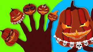 pumpkin finger family halloween special scary finger family songs