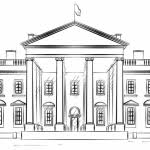 white house coloring free printable coloring pages intended