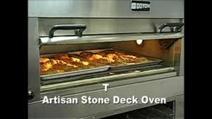 cuisine doyon doyon artisan deck oven webstaurantstore tv