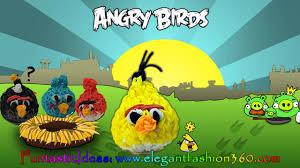rainbow loom angry birds yellow bird 3d charms how to loom