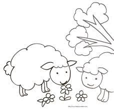 les 16 meilleures images du tableau coloriages mouton sur