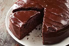 Cake Spiked Mud Cake With Sour Cream Ganache