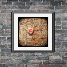 paltz cus map map print miss you poughkeepsie paltz york