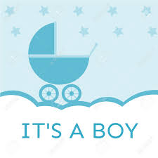 baby boy baby shower it s a boy baby shower invitation royalty free cliparts vectors