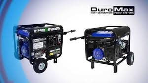 duromax 10000eh hybrid generator how to oil your generator youtube