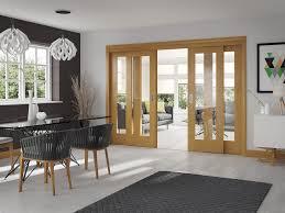 Oak Patio Doors Oak Easi Slide Room Divider Door System