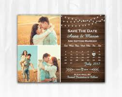 rustic save the date magnets rustic tree save the date magnet or card diy printable digital