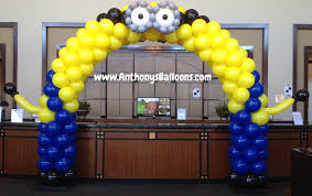minion baby shower decorations chicago balloon decor