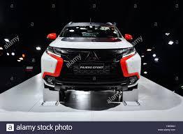 lexus thailand bangkok thailand 28th mar 2017 a mitsubishi pajero sport car